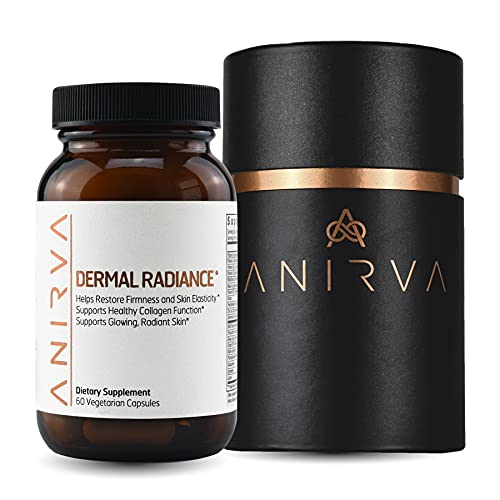 Skin Supplement with Antioxidants, Health and Beauty Supplements with Multivitamins for Glowing Skin, Anti Aging Vitamins - Anirva Dermal Radiance