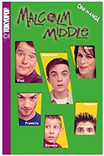 Malcolm in the Middle Volume 1: School Daze (Malcolm in the Middle Cine-Manga)