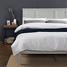ZINUS Andrew Wood Platform Bed Frame / Wood Slat Support / No Box Spring Needed / Easy Assembly, Queen