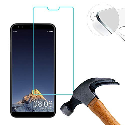 Lusee 2 Stück Schutzfolie für Sharp B10 5.7 [9H Härte] Bildschirmschutzfolie HD Schutzfolie [Anti Kratzer] [Anti Fingerabdruck] 2.5D Panzerfolie für Sharp B10 5.7