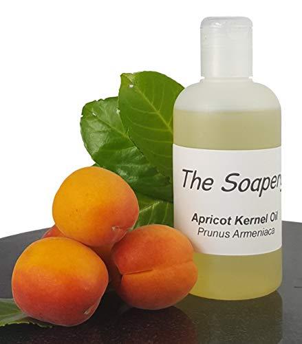 Olio di nocciolo di albicocca, 250 ml, per uso cosmetico, olio vettore per massaggi e aromaterapia