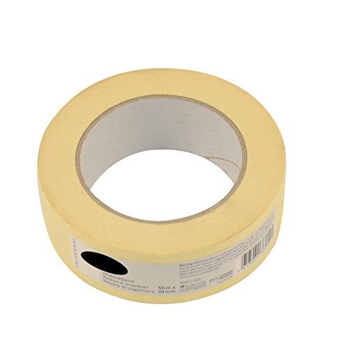 6x Malerkrepp je 38mm x 50m, Abklebeband für Maler Abdeckband Abklebeband für Lackierarbeiten
