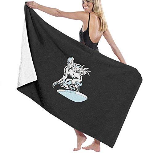 65469longshuo Silver Surfer Bath Towels Luxury Microfiber Beach Towel Quick-Drying Pool Towel Blanket Toalla