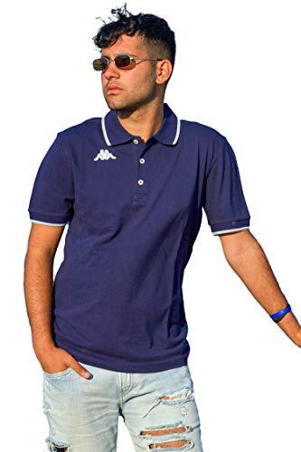 Kappa, Polo T-Shirt Uomo Manica Corta Collezione 2020 Modello Woffen