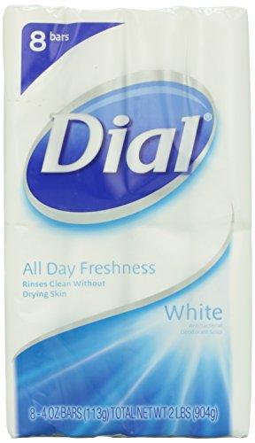 Dial White, 8 count, 4 oz