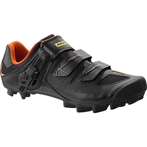 Mavic Crossride SL Elite Zapatillas, Negro/Gris/Naranja, Unisex, L3793160013, Negro, Gris y Naranja, Tamaño 13