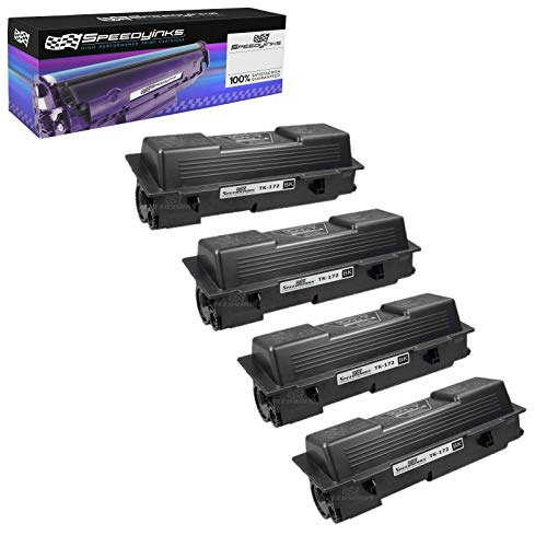 Price comparison product image Speedy Inks Compatible Toner Cartridge Replacement for Kyocera-Mita TK-172 (Black,  4-Pack)