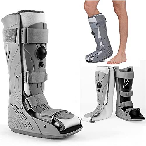 HZYAN Walker Brace Proshell Extra Proshell Bota Ruptura de Achilles Tendon Shoes de rehabilitación Fractura del pie del Tobillo 422 (Color : Grey, Size : Large)