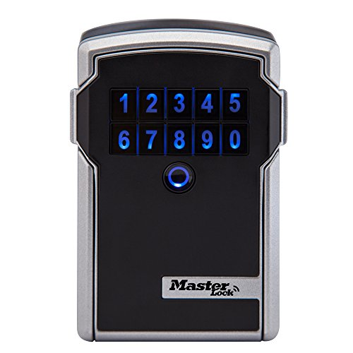 Master Lock Box, Electronic Wall Mount Key Safe with Personal Use Software Platform, 3-1/4 in. Wide, 5441D