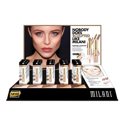 MILANI Contour & Highlight Cream & Liquid Duo Display Set - 15 Pieces