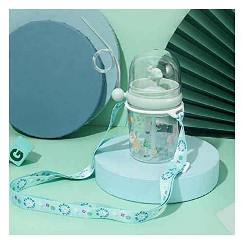 Lindas botellas de agua ballena spray taza de agua de plástico de verano para niños de paja taza de agua resistente a las gotas para estudiantes jarra linda botella para niños