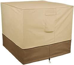 Classic Accessories Veranda Water-Resistant 34 Inch Square Air Conditioner Cover