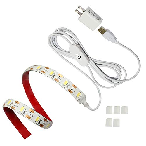 BOESVHO Sewing Machine Light LED Strip, fits All Sewing Machine, with Touch Dimmer and USB Power,...