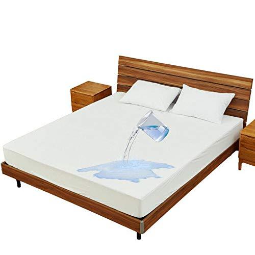 BTHDPP Towelling Waterdichte Matrasbeschermer Katoen Cover Anti Allergie, Anti Bacterieel, Anti Stofmijt