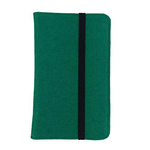 handy-point Organizer tas vilten tas vilten hoes tablethoes beschermhoes met kaartenvak, universeel 7,0-10,1 inch, voor Samsung, iPad, Huawei, Medion, Archos, Lenovo, TrekStor