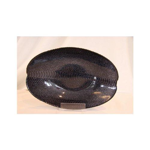 Akcam Schale Schlange Black Glitter Obstschale Salatschale