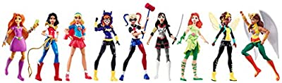DC Super Hero Girls Action Figure (9 Pack)