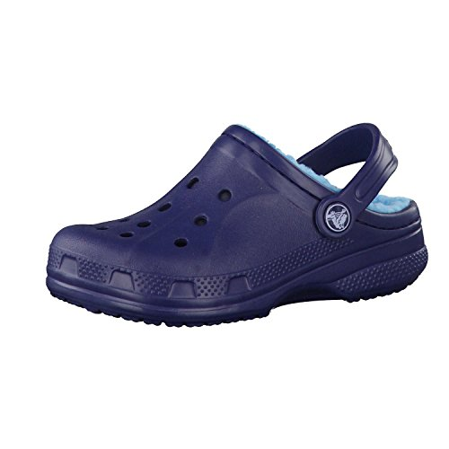 Crocs Winter Clog Kids, Sabots Mixte Enfant, Bleu (Navy/electric Blue) 32/33 EU