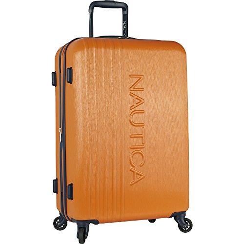 Nautica Lifeboat 24' Hardside Expandable Suitcase, Unisex-Erwachsene Koffer, Classic Orange (Orange)...
