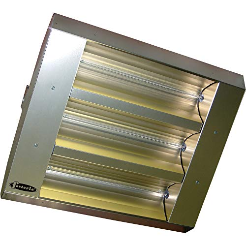 Lowest Prices! TPI THSS Series MUL-T-Mount Electric Indoor/Outdoor Quartz Infrared Heater - 16,382 B...