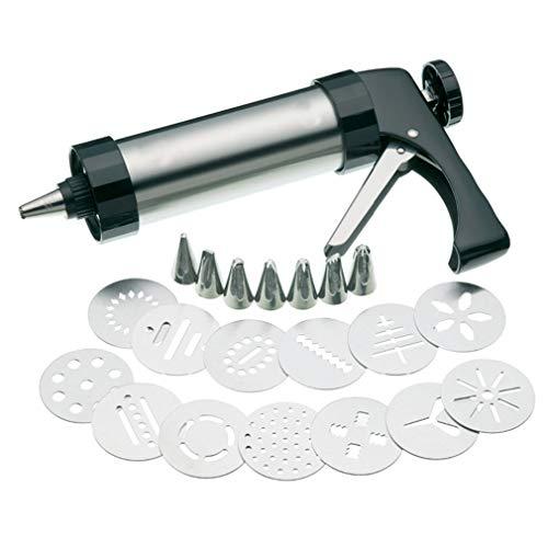 ZXX. Set di Pistola per pressa per Biscotti in Acciaio Inossidabile, Set di Pistole per...