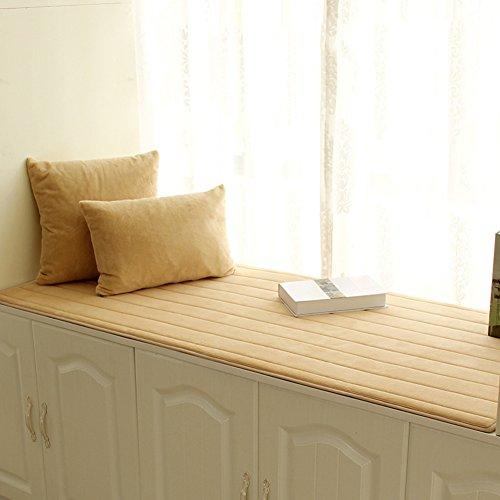 XMZDDZ Dik Erker-kussen, bekleding zit-sil-pad, vensterbank, mat, sofa-mat, tapijt, boek, tatami-matten, antislip 70x180cm(28x71inch) B