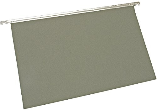 5 Star 913241 Office Suspension File Manilla Heavyweight with Tabs and Inserts A4 Green (Pack of 50)