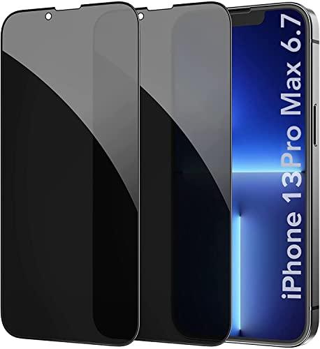 AVANA Folia ochronna na wyświetlacz ze szkła pancernego do iPhone 13 Pro Max [2 sztuki] folia ochronna na wyświetlacz o twardości 9H, folia ze szkła pancernego na wyświetlacz odporna na zarysowania, matowa