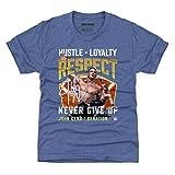 500 LEVEL John Cena WWE Youth Shirt (Kids Shirt, Large (10-12Y), Tri Royal) - John Cena Cenation Respect WHT