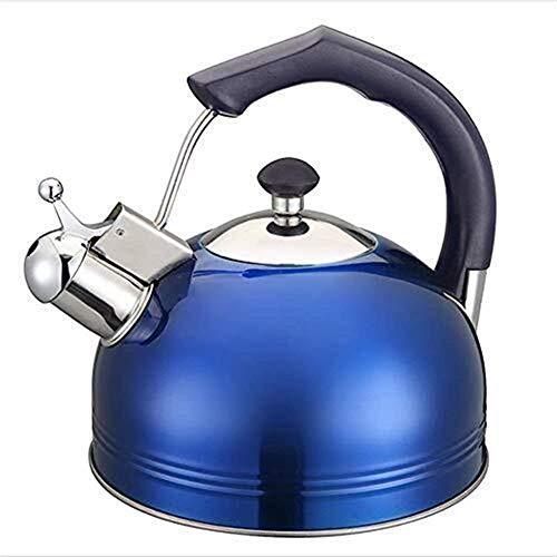 FEE-ZC Hervidor de Agua, Cocina de inducción espesante Hervidor de café Hervidor de Acero Inoxidable 3L