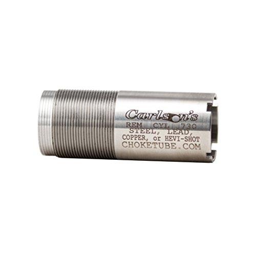 Carlson's' Choke Tubes Remington 12 Gauge Flush Mount Replacement Stainless Choke Tubes, Cylinder, Silver