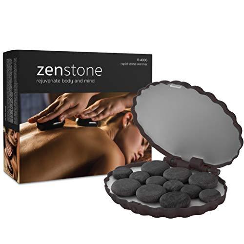 Zenstone Pro Hot Stone Warmer and 12 Pro Stones | New 2019 Model