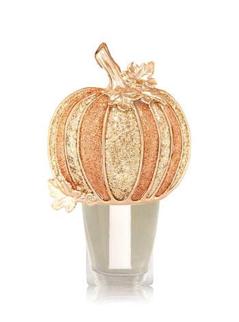チート征服するあさり【Bath&Body Works/バス&ボディワークス】 ルームフレグランス プラグインスターター (本体のみ) ハロウィン グリッターパンプキン ナイトライト Wallflowers Fragrance Plug Halloween Glitter Pumpkin Night Light [並行輸入品]