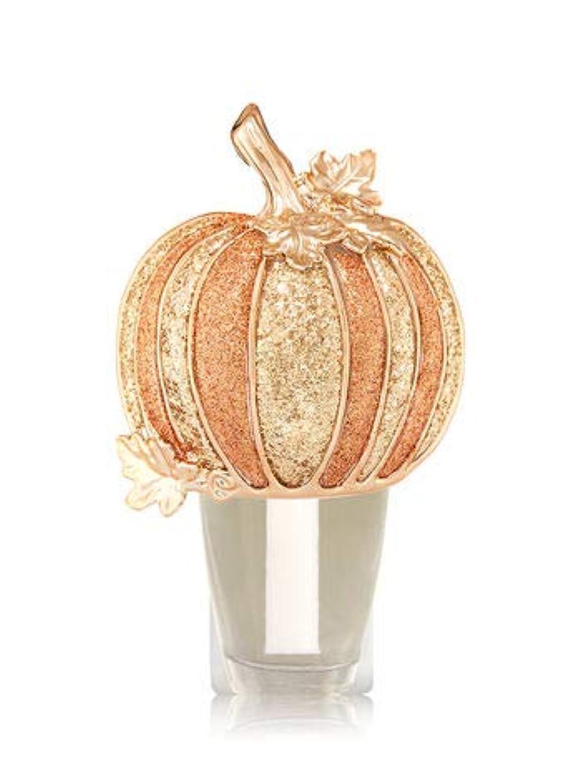 実証するママ債務【Bath&Body Works/バス&ボディワークス】 ルームフレグランス プラグインスターター (本体のみ) ハロウィン グリッターパンプキン ナイトライト Wallflowers Fragrance Plug Halloween Glitter Pumpkin Night Light [並行輸入品]