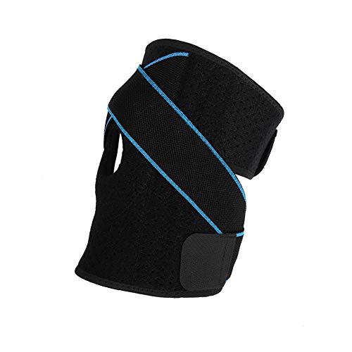 dorisdoll Kniebandage Verstellbare Kompressions Knie Bandage Sport Elastische Knieschoner Knieschützer Knieorthese für Damen Herren