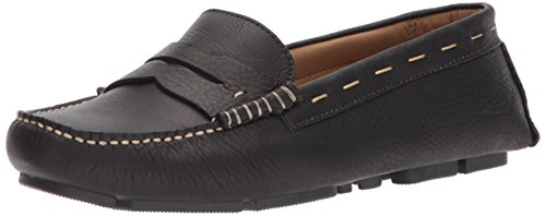 G.H. Bass & Co. Women's Patricia Driving Style Loafer, Yellow, 7.5 M US