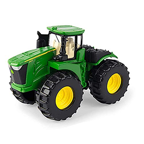 John Deere 3-Inch Iron Toy Vehicles (8400R Tractor with Loader - Muddy Paint)