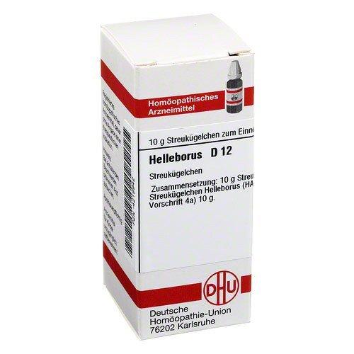HELLEBORUS D 12 Globuli 10 g Globuli