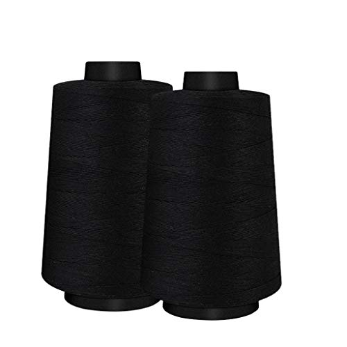 Read About Sewing Thread 4PC 2600 Yards Huge Bobbin Thread for Sewing Embroidery Machine Polyester T...