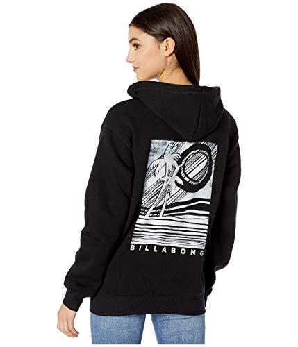 BILLABONG Damen Graphic Hoodie Kapuzenpulli, schwarz, 38 DE/S