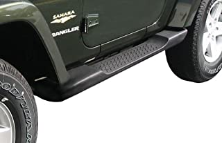 Mopar Jeep Wrangler Side Steps Running Boards Molded