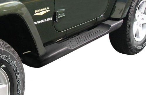 Mopar Jeep Wrangler Side Steps Running Boards Molded