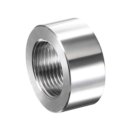uxcell Round Weld Nuts, G3/4 Weld On Bung Female Nut Threaded - Stainless Steel Insert Weldable