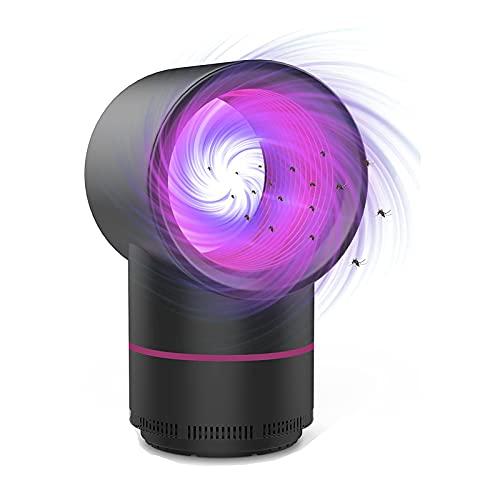 Myggdödarlampa, LED elektrisk insektsdödare myggdödare fälla flugfångare insektsdödare UV insektsdödare, flygfälla lampa med UV-ljus, för inomhus utomhus sovrum kök kontor hem