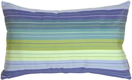 PILLOW DÉCOR Sunbrella Seville Seaside 12x19 Outdoor Pillow