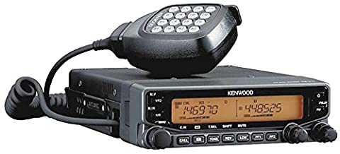 Kenwood Original TM-V71A 144/440 MHz Dual-Band Amateur Mobile Transceiver, 50 Watts, 1000 Memory, EchoLink Sysop-Mode Oper...