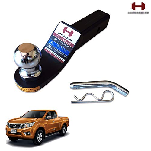 Best Buy! Nonstops Towbar Tongue Tow Ball Mount Hitch Hamer Black Trim For Nissan Np300 2015-2017