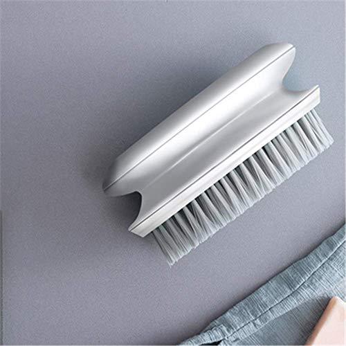 TIGOGZ Cepillo para la colada de cerdas suaves, cepillo para zapatos, cepillo para uso doméstico, cepillo para la limpieza, cepillo para zapatos, multifunción, cepillo para pelo suave