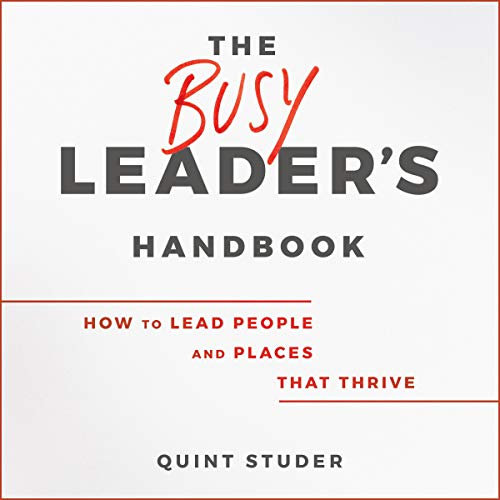 The Busy Leader's Handbook cover art