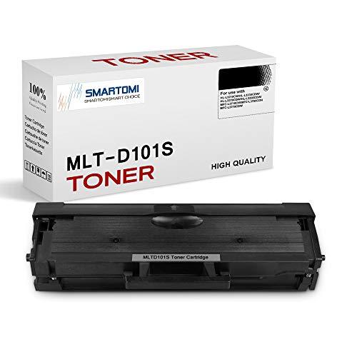 SMARTOMI, confezione da 1, cartucce toner nero MLT-D101S compatibili con Samsung MLT-D101S 101L per uso con stampanti Xpress serie ML- 2160 2161 2166W 2162 2164 2165 2167 2168 1661 1673 1678 1860 1861